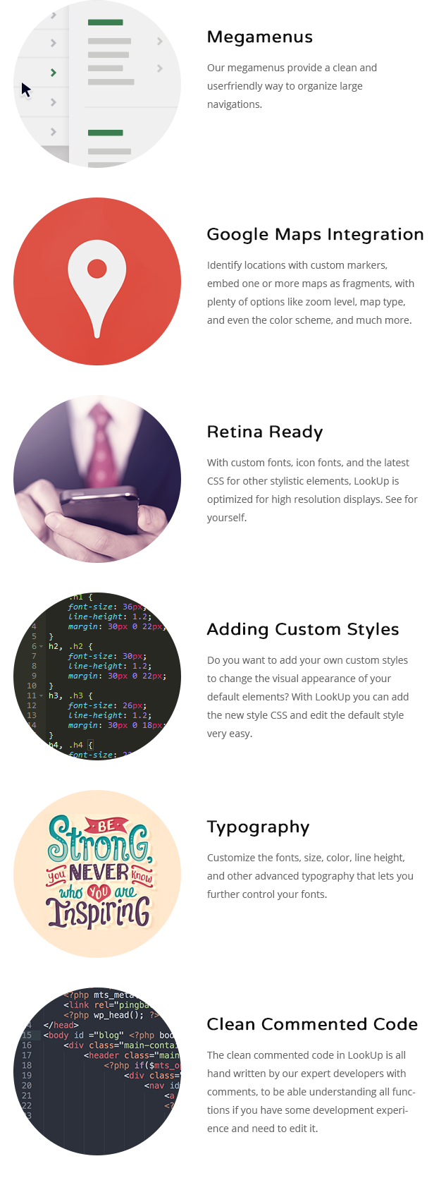 LookUp - Responsive Multi-Purpose HTML5 Template - 4